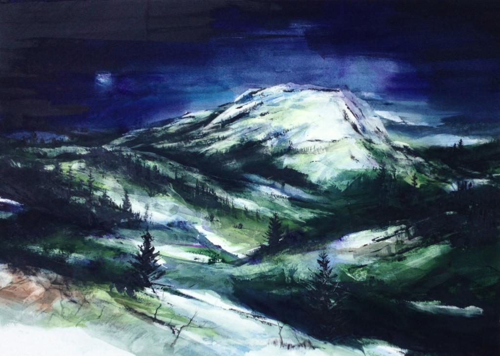 painting -- garnet, 4