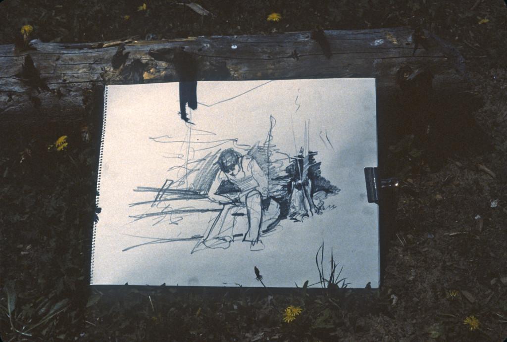 val - sketch at fairy lake